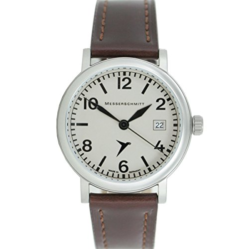 Aristo Herren Messerschmitt Uhr Fliegeruhr ME 1285 ME 1285 2 Leder
