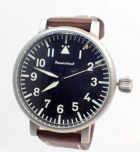 Aristo Herren Messerschmitt Uhr Fliegeruhr Jumbo ME 55DB