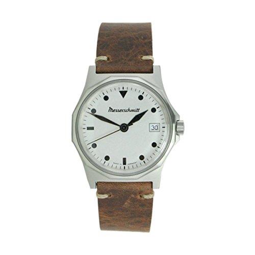 Aristo Herren Messerschmitt Uhr Fliegeruhr ME 99B Leder