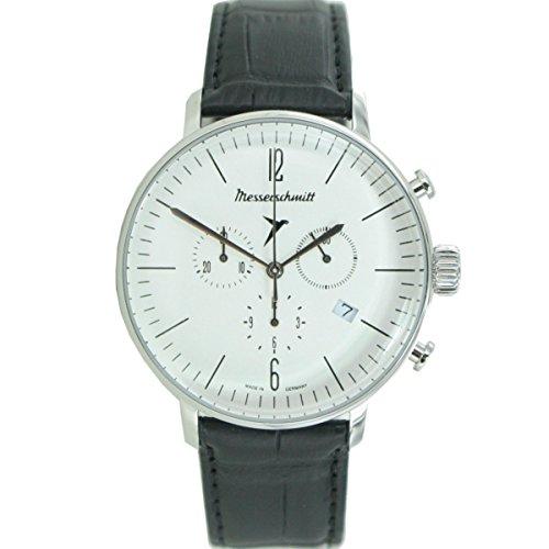 Aristo Herren Messerschmitt Uhr Chronograph Fliegeruhr ME 4H150