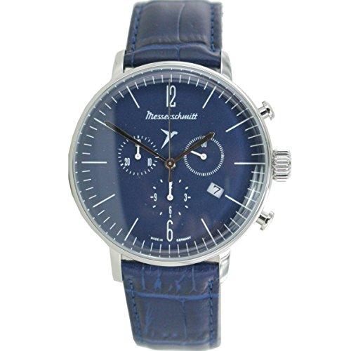 Aristo Herren Messerschmitt Uhr Chronograph Fliegeruhr ME 4H153