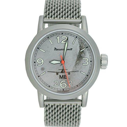 Aristo Herren Messerschmitt Uhr Fliegeruhr ME 262 Automatik 3H262 AERO