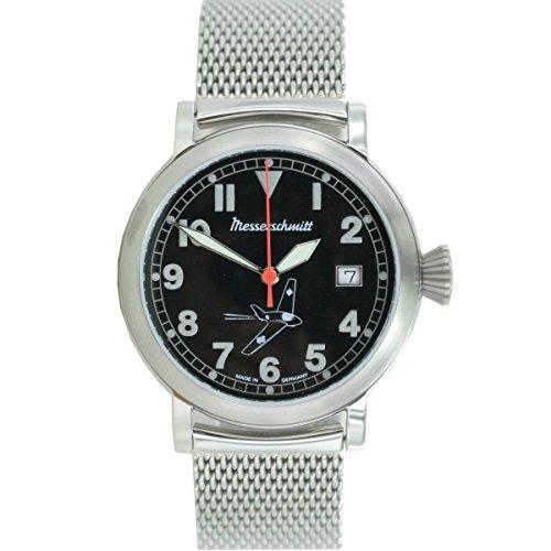 Aristo Herren Messerschmitt Uhr Fliegeruhr ME163 SCM Milanaise