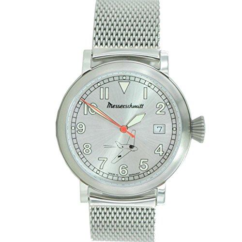 Aristo Herren Messerschmitt Uhr Fliegeruhr ME163 SIM Milanaise