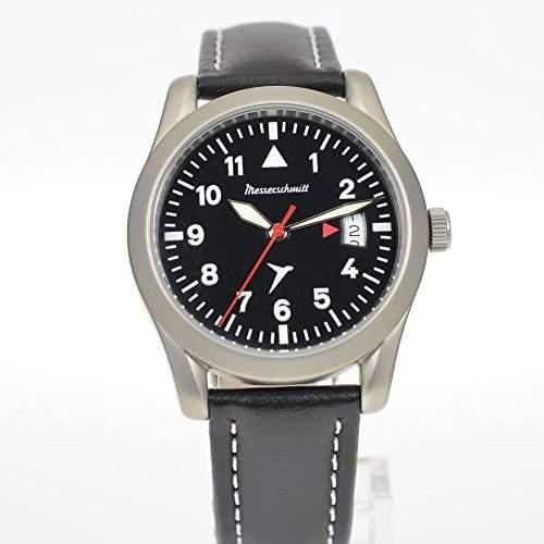 Messerschmitt Fliegeruhr Pilot Watch Herren Uhr ME-40 Day ME40