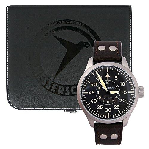 Messerschmitt Automatik Herren Armbanduhr ME 3H142A Pilot