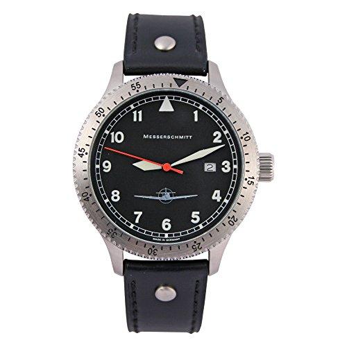 Messerschmitt Herren Flieger Armbanduhr 108 DR
