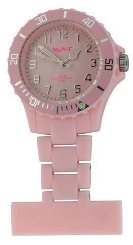 Krankenschwester Neon Taschenuhr Baby Pink