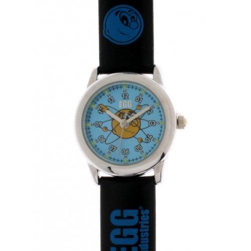 Egg 4042504 Zeigt Jungen Armbanduhr KL129 Analog Kunststoff schwarz