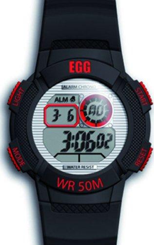 Ei 4043501 Armbanduhr Analog Quarz Schwarz Zifferblatt Rubber Strap