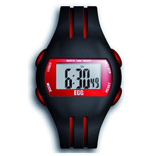Ei 4043702 Armbanduhr Analog Quarz Schwarz Zifferblatt Rubber Strap