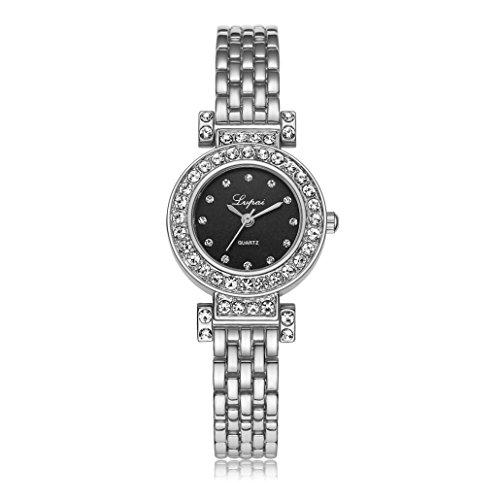 OverDose Damen Frauen Taktgeber Kleid Geschenk Uhren B