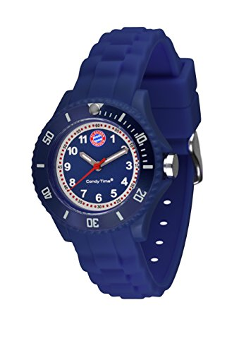 MADISON NEW YORK Kinder Uhr Candy Time for FC Bayern Muenchen Kids Blau Onesize