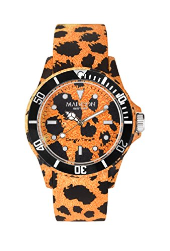 MADISON NEW YORK Unisex Uhr Candy Time Animal Print Gepard onesize