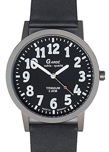 Garde Ruhla Klassische Uhr fuer Herren Titan Exclusiv 56 86