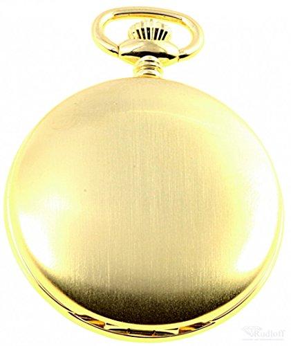 Savonnette Taschenuhr vergoldet Quarz ITRR 31gg