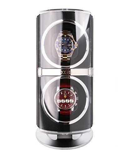 AXIS Dual Automatische 2 Uhrenbeweger Schwarz axw091b NEU fuer 2016