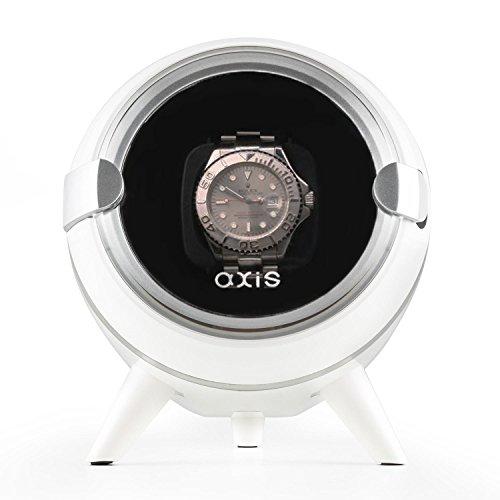 AXIS Single Automatische Uhrenbeweger weiss axw090 W New fuer 2016