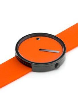 Rosendahl Unisex Armbanduhr Picto Analog Quarz Kautschuk R 43373