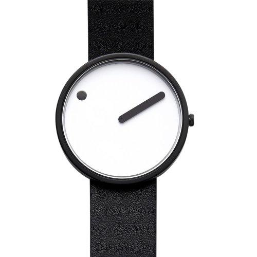 Rosendahl Unisex Armbanduhr Picto Analog Quarz Leder 43379
