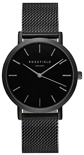 ROSEFIELD The Mercer Black Black Armbanduhr MBB M43