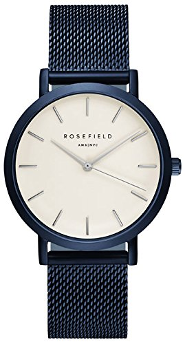 ROSEFIELD The Mercer White Blue Armbanduhr MWBL M44