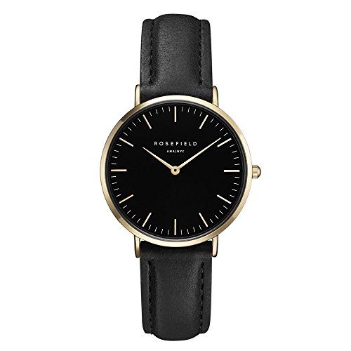 ROSEFIELD The Tribeca Black Black Gold Armbanduhr TBBG T56
