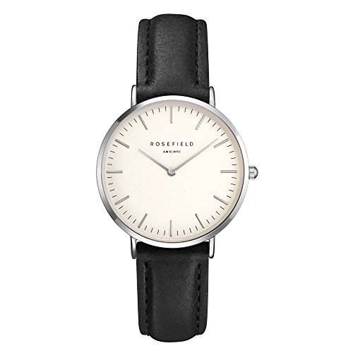 ROSEFIELD The Tribeca White Black Silver Armbanduhr TWBLS T54