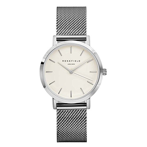 ROSEFIELD The Tribeca White Silver Armbanduhr TWS T52