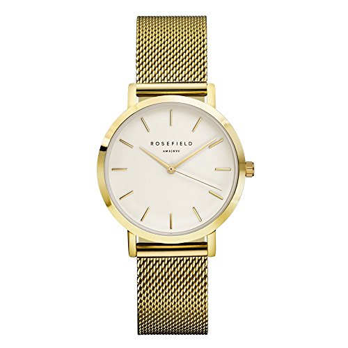 ROSEFIELD The Tribeca White Gold Armbanduhr TWG T51