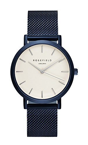 Rosefield Uhr The Mercer blau