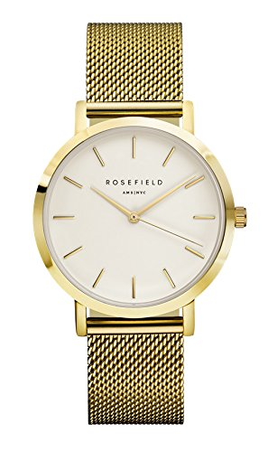 Rosefield Uhr The Mercer gold