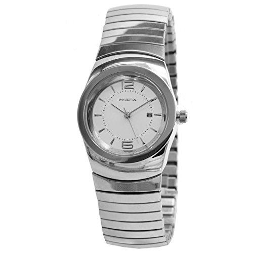 Prisma Damen Armbanduhr Classic Edelstahl Analog mit Quarzwerk P 1287