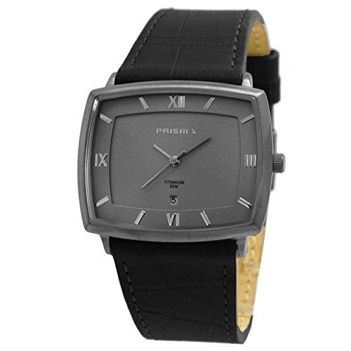 Prisma Herren Armbanduhr Analog mit Quarzwerk und 5 ATM P 2787