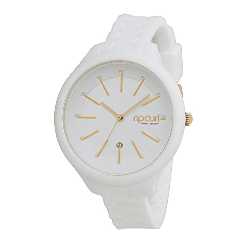 2016 17 Rip Curl Alana Horizon Silicone Surf Watch WHITE A2822G