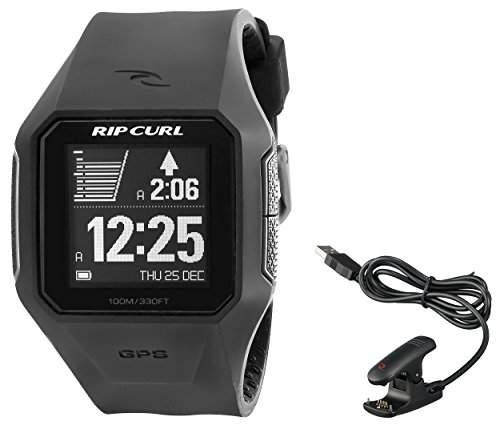 Rip Curl Unisex A1111BLK Digital Display Quartz Black Watch