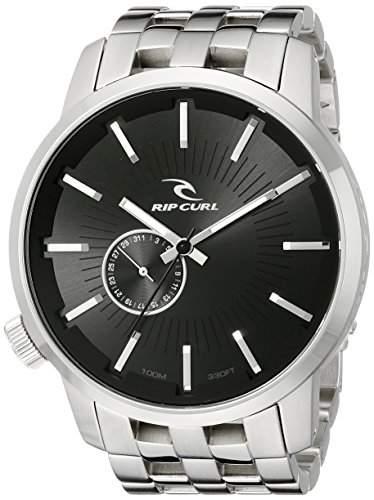 Rip Curl Herren A2227-BLK Detroit Stainless Steel Black Watch