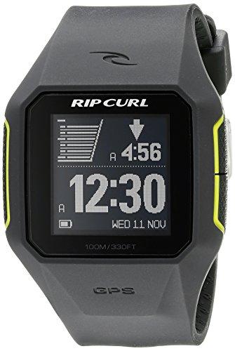 Rip Curl Herren a1111 cha searchgps Digital Display Quarz grau Armbanduhr