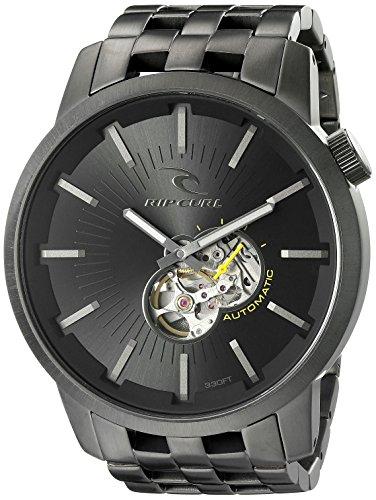 Rip Curl Herren a2537 dsh Detroit Automatische Analog Display Japanische Automatische Silber Armbanduhr