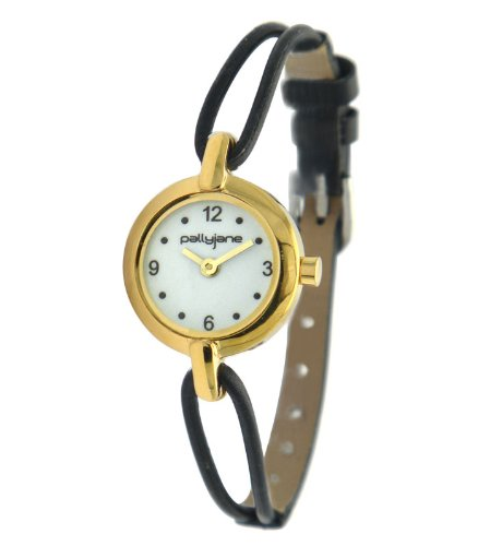 PallyJane Damen Armbanduhr Messing und Leder 4071412