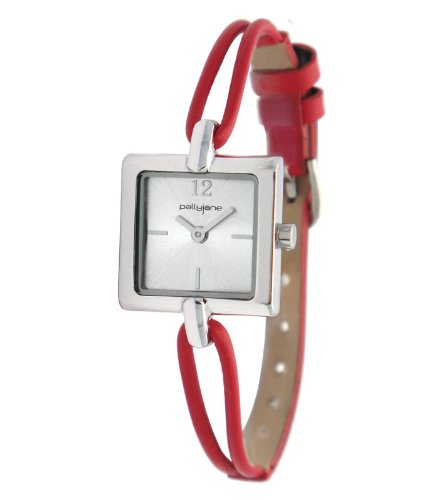 PallyJane Damen Armbanduhr Messing und Leder 4071622