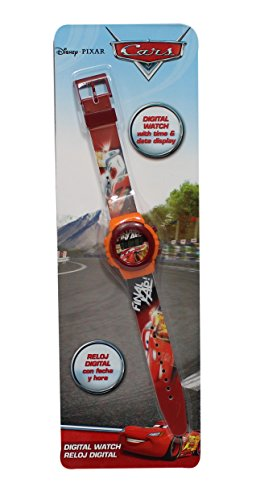 Armbanduhr fuer Kinder Motiv Cars Disney Flash Mac Queen