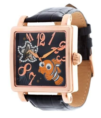 Disney Herren Armbanduhr Nemo schwarz DI-094491-D02