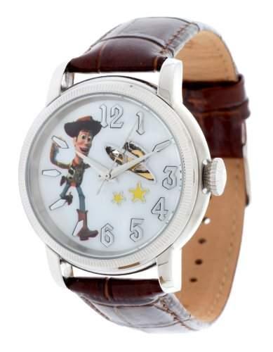 Disney Herren Armbanduhr Woody braun DI-094491-WOY