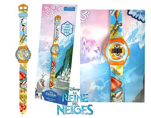 Digitale Uhr Kinder Maedchen Frozen Olaf Die Eiskoenigin Disney Lizenzware