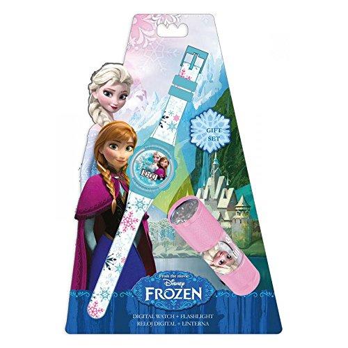 Digitaluhr Taschenlampe Die Schneekoenigin Disney