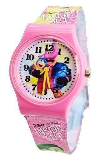 Disney Pixar Inside Out Armbanduhr fuer Kinder Grosse Analog Display fuer einfache lesen und Lernen Zeit