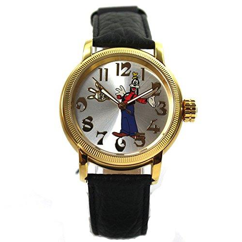 Disney Uhr Automatikuhr Goofy rosegold silber Lederband Limited Edition