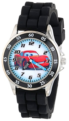 Disney Kids CZ1008 Watch with Black Rubber Band