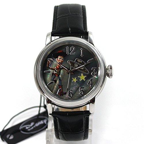 Disney Uhr Automatikuhr Toy Story Woody Lederband Sammleruhr